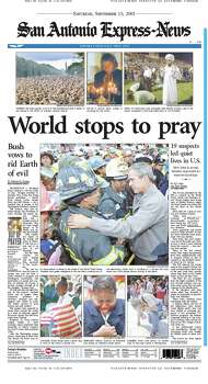 Sept. 15, 2001 Photo: Express-News File Photos