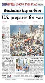 Sept. 14, 2001 Photo: Express-News File Photos