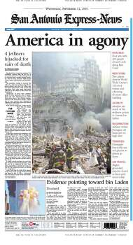 Sept. 12, 2001 Photo: Express-News File Photos