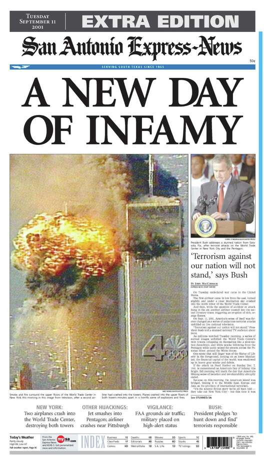 Sept. 11, 2001 Photo: Express-News File Photos