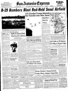 Jun 29, 1950 Photo: Express-News File Photo