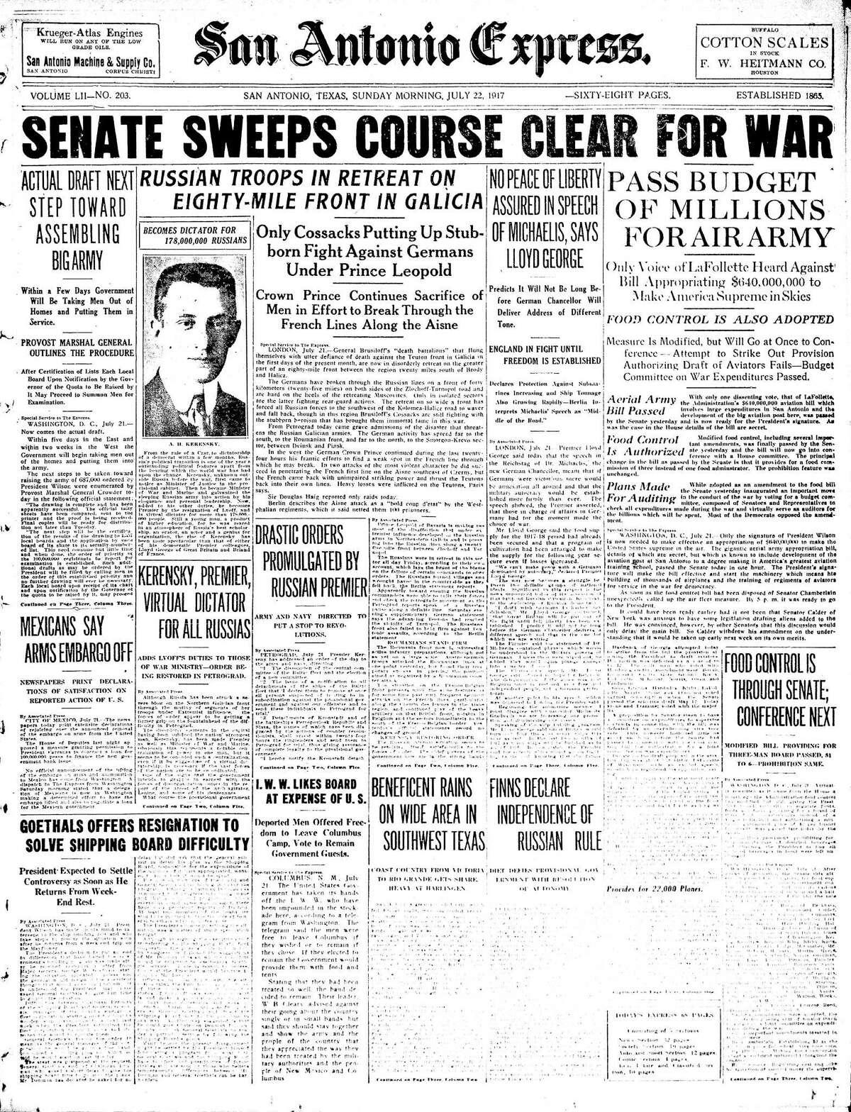 July 22, 1917