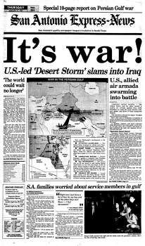 Jan. 17, 1991 Photo: Express-News File Photo