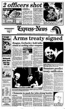 Dec. 9, 1987 Photo: Express-News File Photo