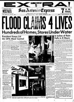 Sept. 27, 1946 Photo: Express-News File Photo