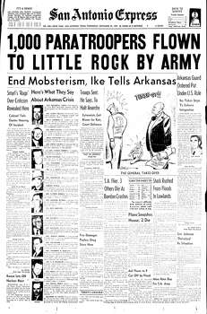 Sept. 25, 1957 Photo: Express-News File Photo