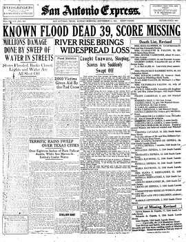 Sept. 11, 1921 Photo: Express-News File Photo