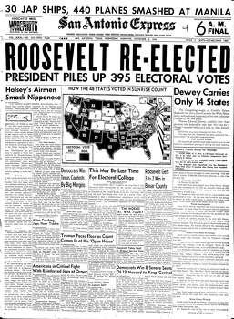 Nov. 8, 1944 Photo: Express-News File Photo