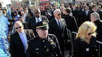 NYC officer mourned at funeral as tensions linger - Photo