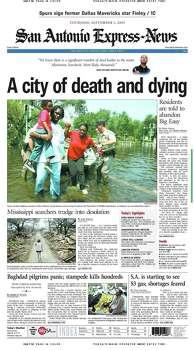 Sept. 1, 2005 Photo: Express-News File Photo