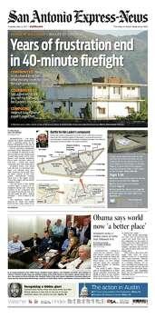 May 3, 2011 Photo: Express-News File Photo