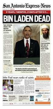 May 2, 2011 Photo: Express-News File Photo
