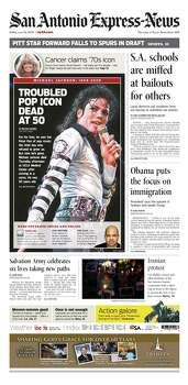 June 26, 2009 Photo: Express-News File Photo