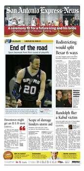 April 30, 2011 Photo: Express-News File Photo