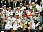 In 2014, the San Antonio Spurs won their fifth championship. What were the other four years?
