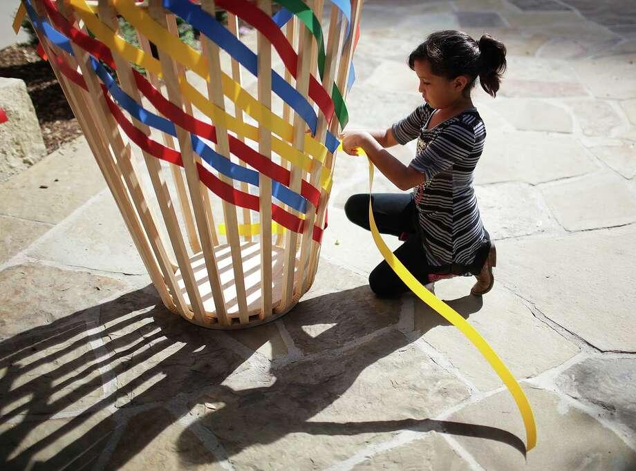Basket Weaving Houston : Best photos of jerry lara houston chronicle