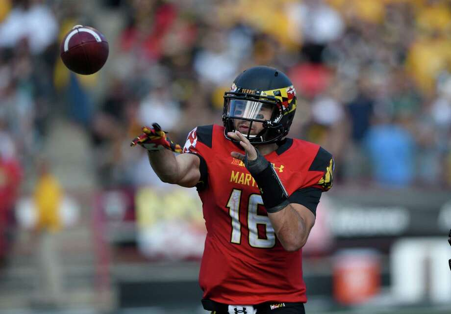 Maryland quarterback C.J. Brown started his college football career with a redshirt year in 2009. Photo: Nick Wass / Associated Press / FR67404 AP