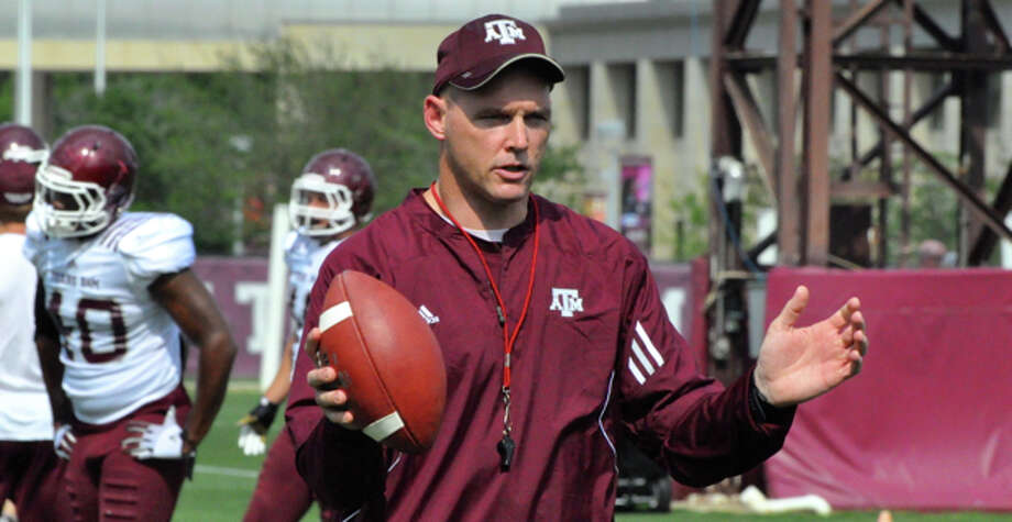Mark Hagen during his time as a Texas A&M assistant football coach Photo: NA / Texas A&M Athletics / ONLINE_YES