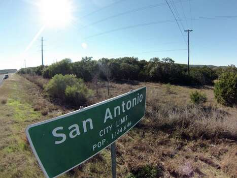 The Gallagher area of Government Canyon State Natural Area, shown here, may soon be annexed, along with other portions, by the city of San Antonio. Photo: Billy Calzada, San Antonio Express-News /  San Antonio Express-News