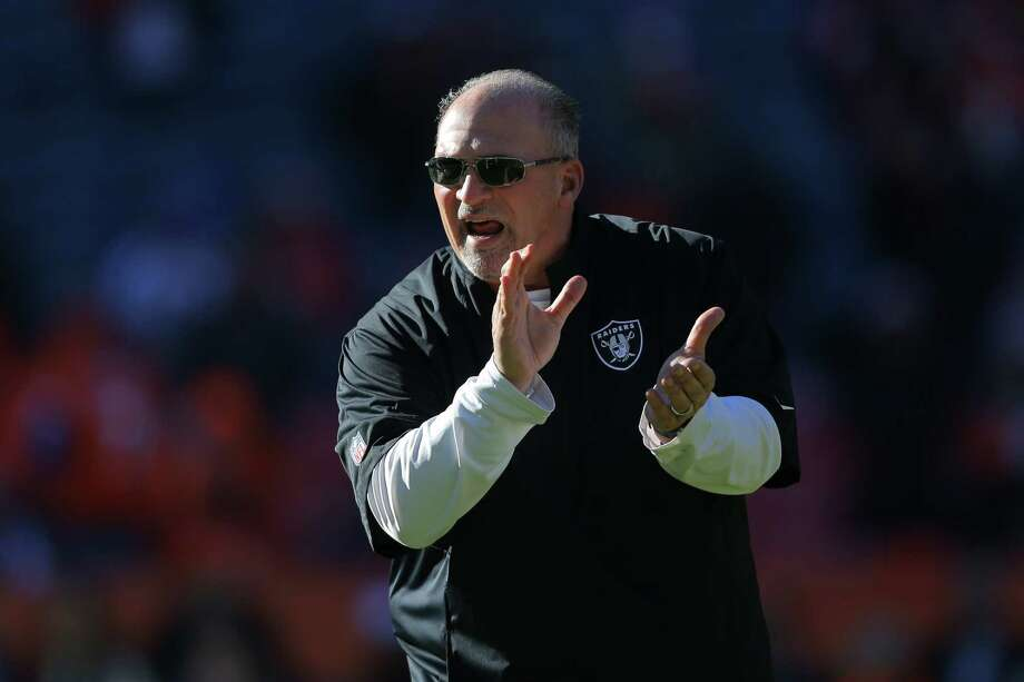 Interim coach Tony Sparano, above, finished  3-9 with Oakland and wants to return. Mike Shanahan, right, went  to court  over his termination by owner Mark Davis' father, but he wants the job again. Todd Bowles, left, plans to meet with at least four other teams first. Photo: Justin Edmonds / Getty Images / 2014 Getty Images