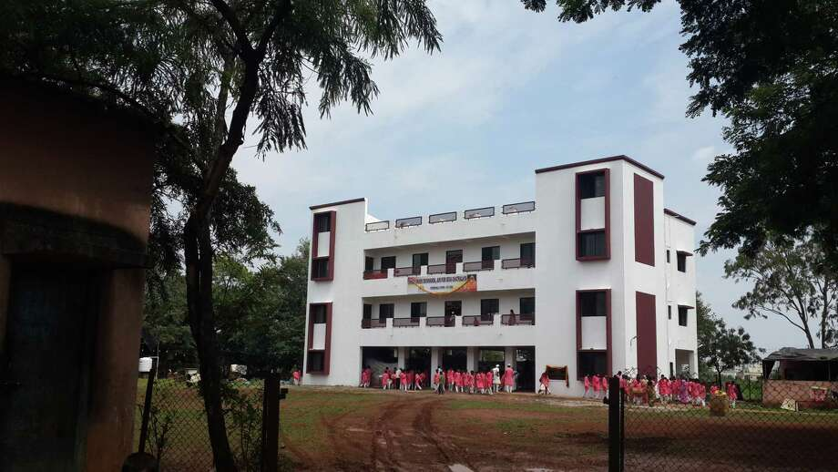 A student home in Chikhali, India was built in part by donations from Latham Dr. Arun Puranik. The home provides room and board for students who live in rural areas and would otherwise not be able to attend school.