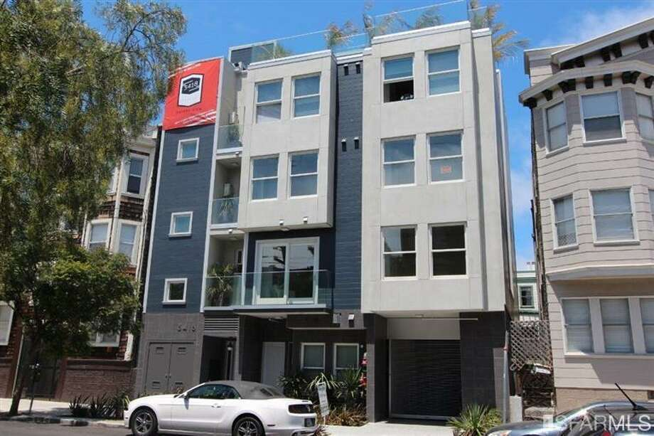 The Mission, SF's new hip and rich city, offers this condo. Photo via MLS/Redfin