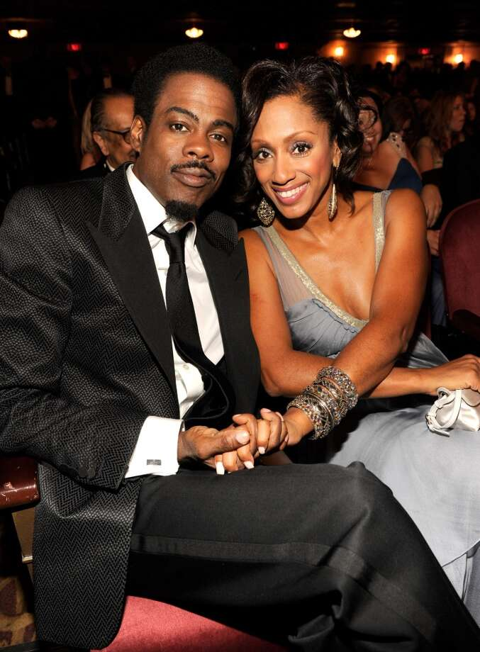 (EXCLUSIVE, Premium Rates Apply) (EXCLUSIVE COVERAGE) Chris Rock and Malaak Compton Rock attend the 65th Annual Tony Awards at the Beacon Theatre on June 12, 2011 in New York City. Photo: WireImage