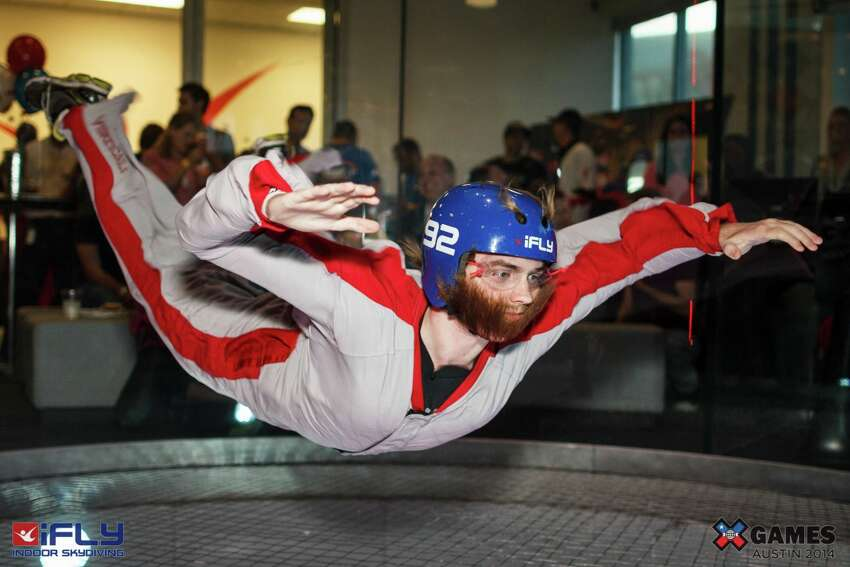 Indoor skydiving Take to the skies without ever really leaving the ground at San Antonio's only indoor skydiving facility. iFly 15915 West Interstate 10 210-762-4359