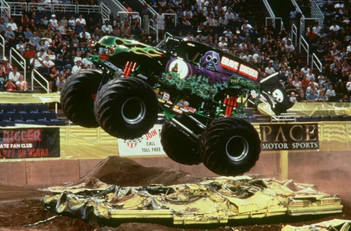 Due to the Houston Texans making the playoffs, Houston's first Monster Jam event of 2017 scheduled for Saturday, January 7, has been rescheduled for Sunday, February 12 at 3:30 p.m. Click through to see more photos from Monster Jam action at NRG Stadium...