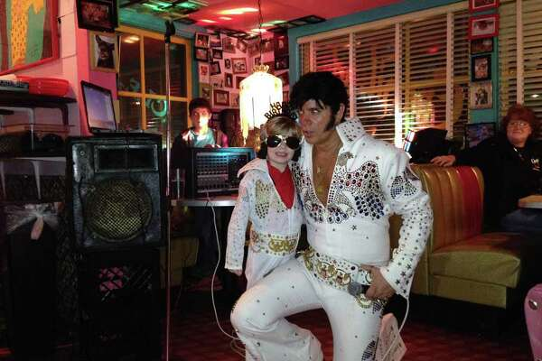 Elvis comes in all sizes at Chuy's.