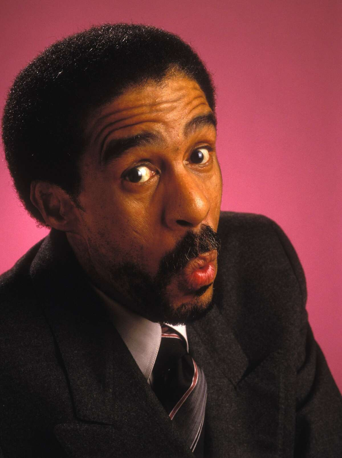 Richard Pryor at the Beverly Hills Hotel in 1987. Richard Pryor at the Beverly Hills Hotel in Beverly Hills, California (Photo by Bob Riha Jr/WireImage)