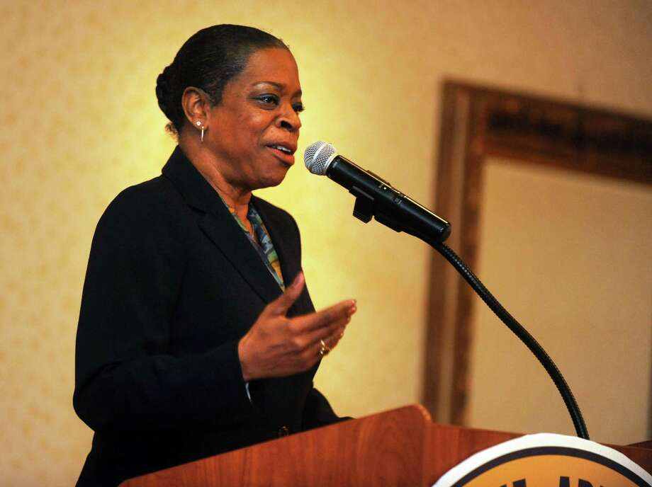 The League of Women Voters Greenwich will host a talk by Denise Nappier, treasurer for the state of Connecticut on Thursday, Jan. 8 at 7 p.m., at Greenwich Town Hall, 101 Field Point Road. Nappier will discuss the state employee and teachersí  pension, what is critical to get the pension funded, her investment strategy for these pension assets and more Photo: Autumn Driscoll / Connecticut Post