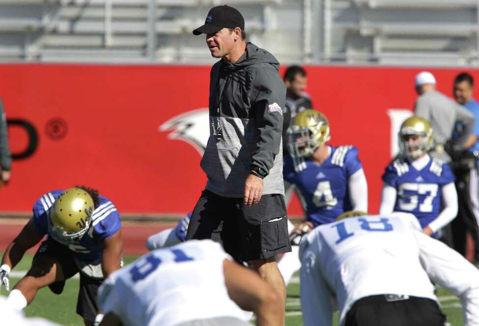 9. NFL bound? UCLA Coach Jim Mora, who already has head coaching stints in the NFL with the Atlanta Falcons and Seattle Seahawks, is rumored to be a person of interest for at least two NFL teams with job openings. Now that Jim Harbaugh has left the San Francisco 49ers for Michigan,