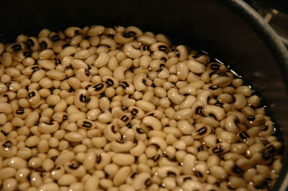 Black-eyed peas:  The traditional Southern staple is said to bring fortune in the new year—the peas resemble coins. Photo: Nep, Flickr