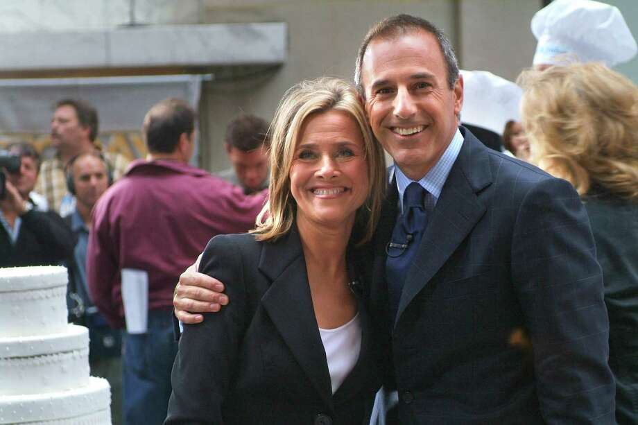 """FILE -- Meredith Viera with Matt Lauer during her first day as co-host of """"Today"""" in New York, Sept. 13, 2006. A television critic monitored """"Today"""" for a month to test the theory that the end of its 16-year run atop the morning-show ratings was the fault of its co-host Ann Curry. (Michael Falco/The New York Times) -- PHOTO MOVED IN ADVANCE AND NOT FOR USE - ONLINE OR IN PRINT - BEFORE JUNE 24, 2011. Photo: MICHAEL FALCO / NYTNS"""