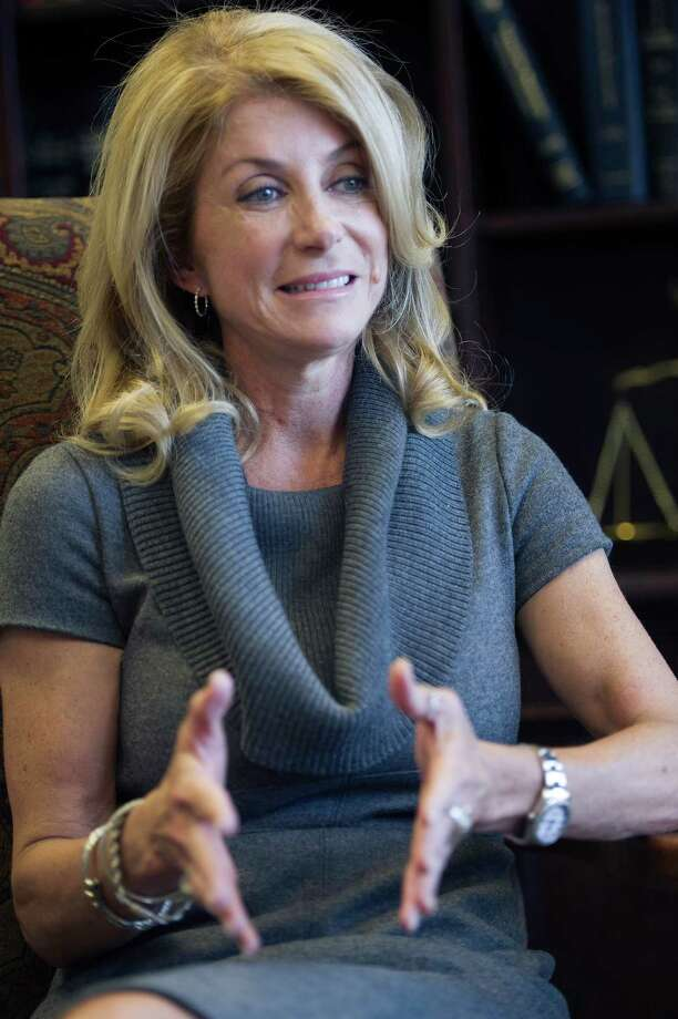 Texas State Senator Wendy Davis speaks to the San Antonio Express News about her unsuccessful bid for governor in this year's gubernatorial election and what she plans to do moving forward on Monday, December 29, 2014 in Austin, Texas. Photo: Matthew Busch, For The San Antonio Express-News / © Matthew Busch