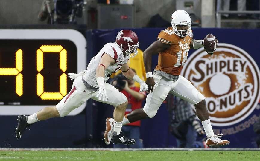 AdvoCare Texas Bowl (Dec. 29): Arkansas 31, Texas 7  Record: 6-7