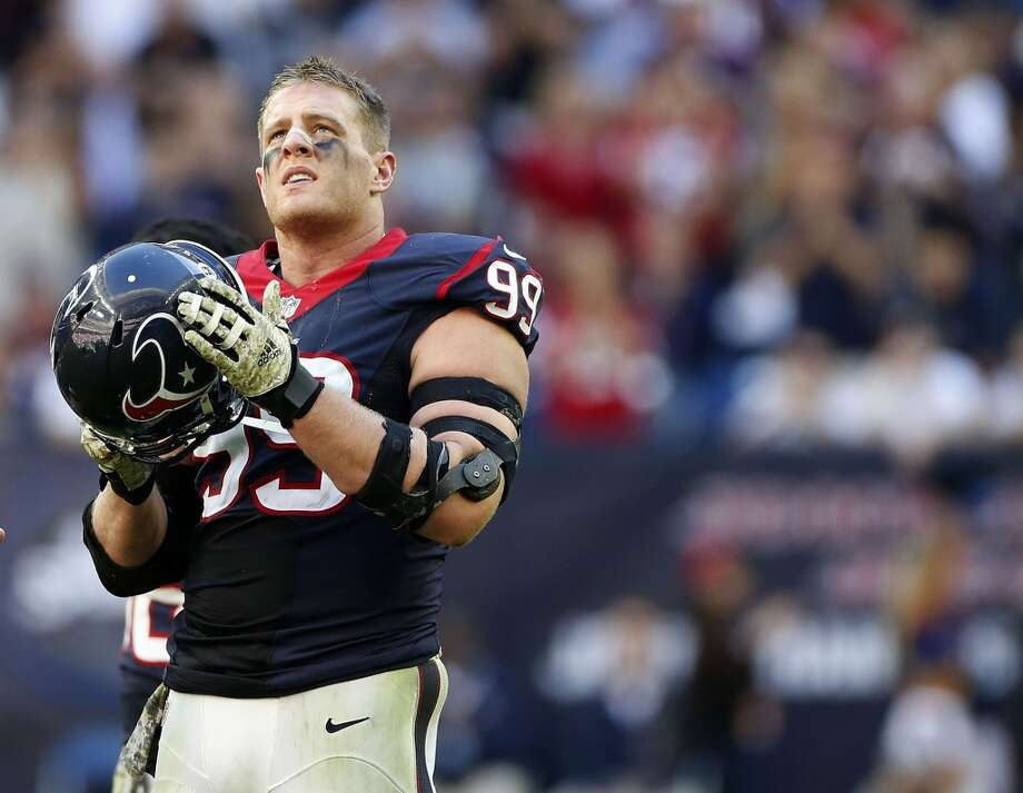 DEFENSIVE LINE J.J. Watt authored one of the most incredible seasons in league history with 20 ½ sacks. Watt is as great against the run as he is rushing the passer. Under Bill Kollar, regarded as one of the NFL's best defensive line coaches, a lot of the young linemen made considerable improvement.Jared Crick was productive in his first season as a starter in place of Antonio Smith. He was stout against the run and improved as a pass rusher. Nose tackle Ryan Pickett provided the defense with an experienced anchor in the middle. He was an excellent addition early in the season when they struggled against the run. Veteran Jerrell Powe filled in admirably on the nose. Rookie Jeoffrey Pagan became part of the rotation and improved late in the season.  2014 grade: A Photo: Karen Warren, Houston Chronicle