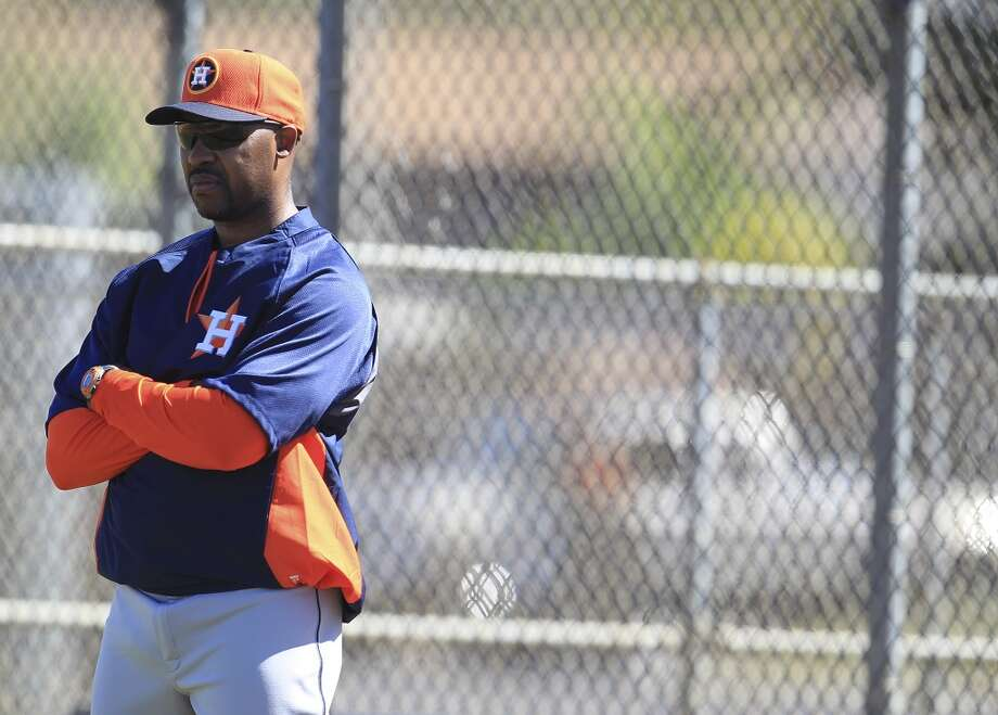 Former Astros manager Bo Porter is under consideration for the Rice baseball coaching job, according to a report. Photo: Karen Warren, Houston Chronicle