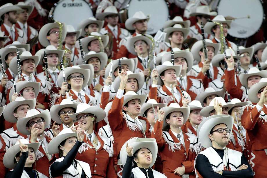 When it visits TCU and Baylor this season, the Texas band will have to pay for its tickets. In the past, the Big 12's Texas schools had a gentleman's agreement not to charge one another. Photo: Brett Coomer, Houston Chronicle / © 2014 Houston Chronicle