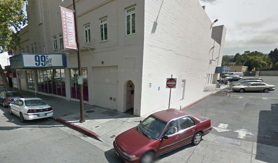 A man was killed and a woman was wounded in a shooting Monday night in a parking lot near the 99 Cents Only store at 1941 San Pablo Ave. Photo: Google Maps