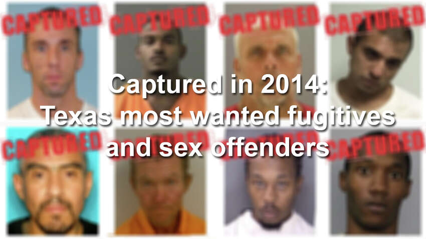 See the 28 most wanted fugitives and sex offenders apprehended by Texas law enforcement in 2014.