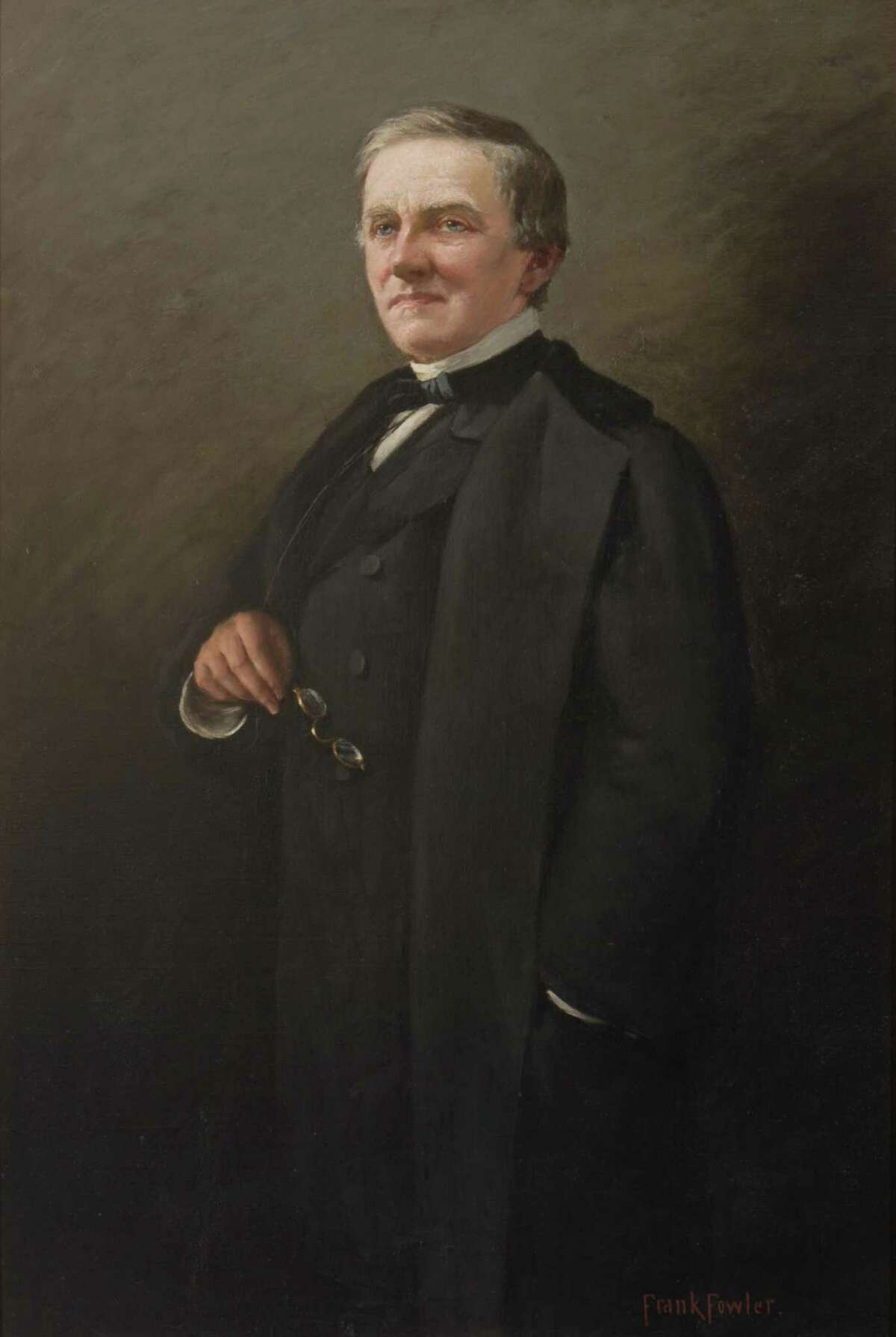 Samuel J. Tilden, 25th Governor of New York, and the Democratic nominee for the 1876 U.S. presidential election. (State Archive)
