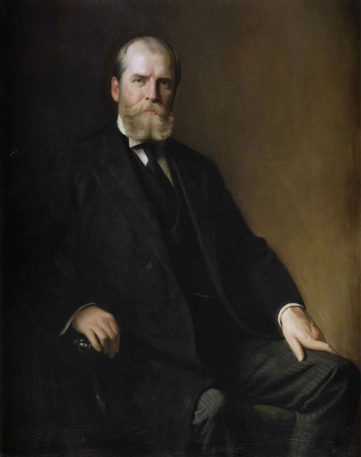 Charles Evans Hughes, 36th Governor of New York and Republican nominee for the 1916 U.S. presidential election. (State Archive)
