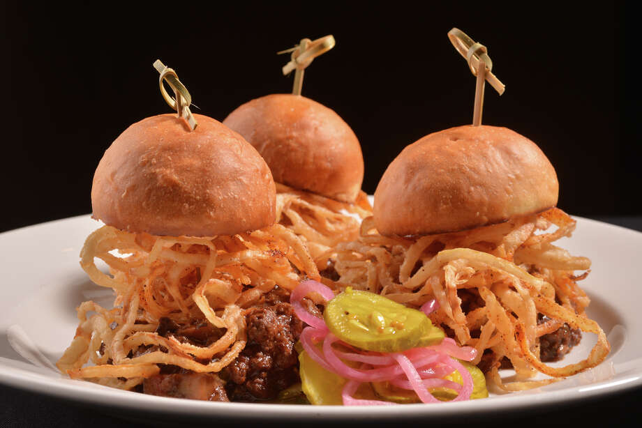Lamb sliders from Zinc at 205 N. Presa. Photo: Robin Jerstad, Freelance