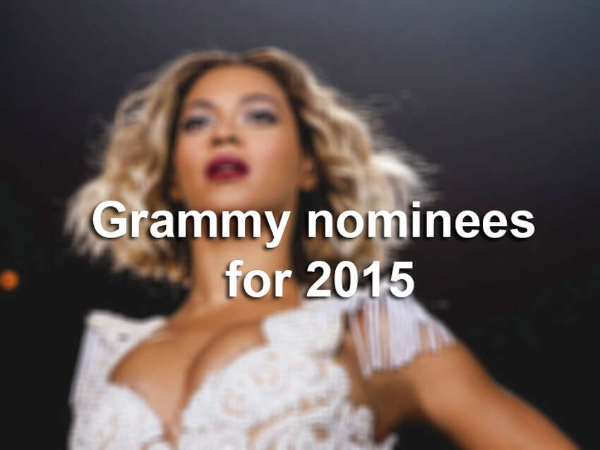 The gallery features Grammy nominees for 2015.