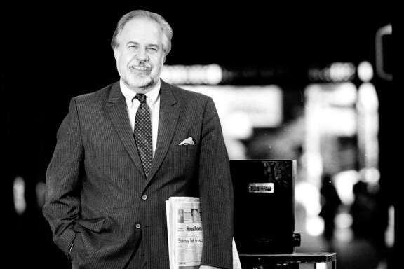 12/03/1987 -- Jack Loftis - Houston Chronicle vice president and Editor