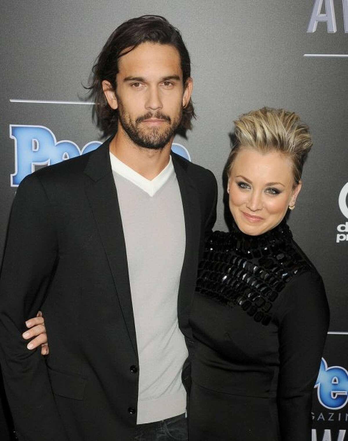 Kaley Cuoco changed her name to Kaley Cuoco-Sweeting while she was married to Ryan Sweeting.