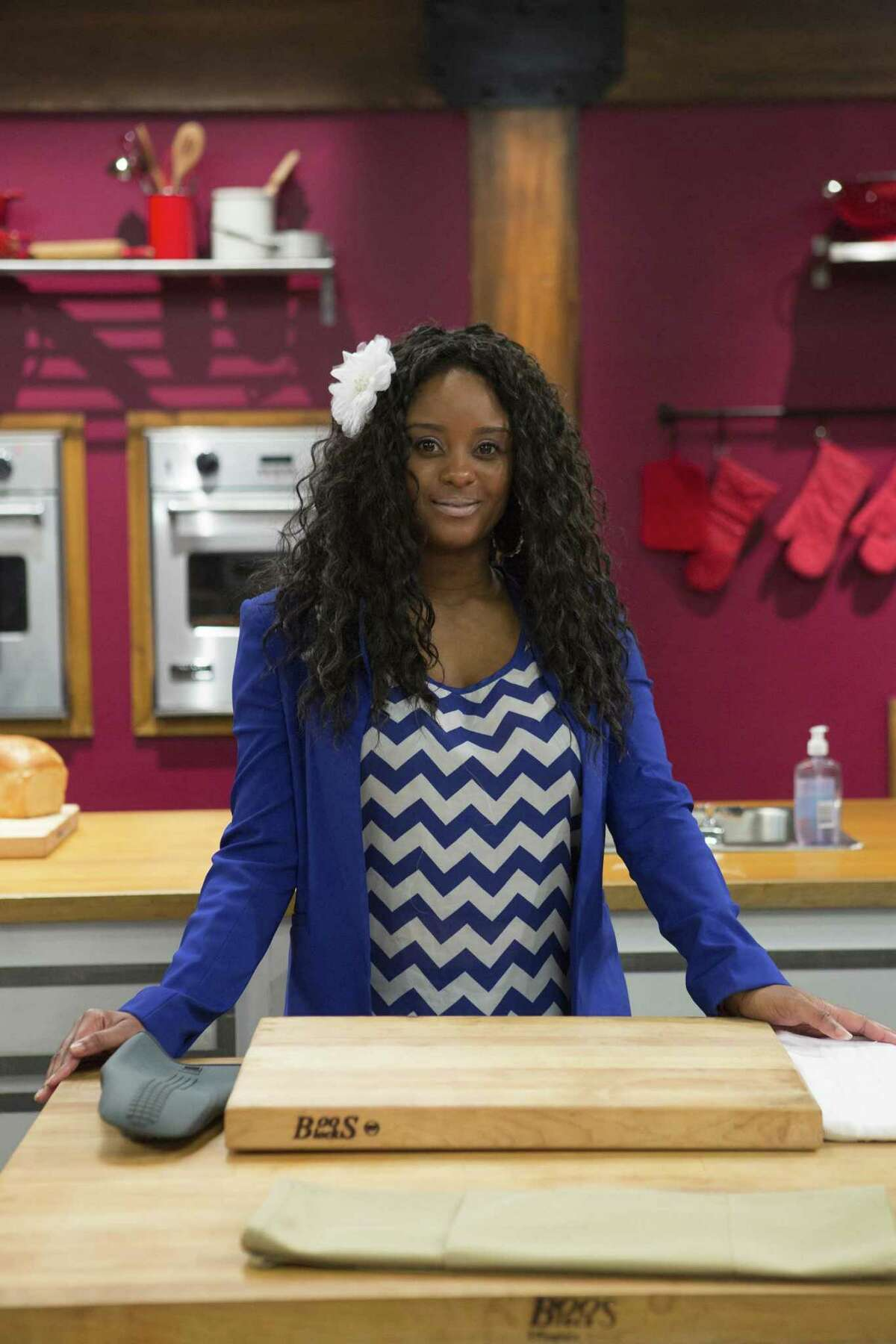 """Kortni Montgomery of Houston will be one of the competitors in the sixth season of the culinary boot camp """"Worst Cooks In America"""" on the Food Network. The new season begins Jan. 4, 2015."""