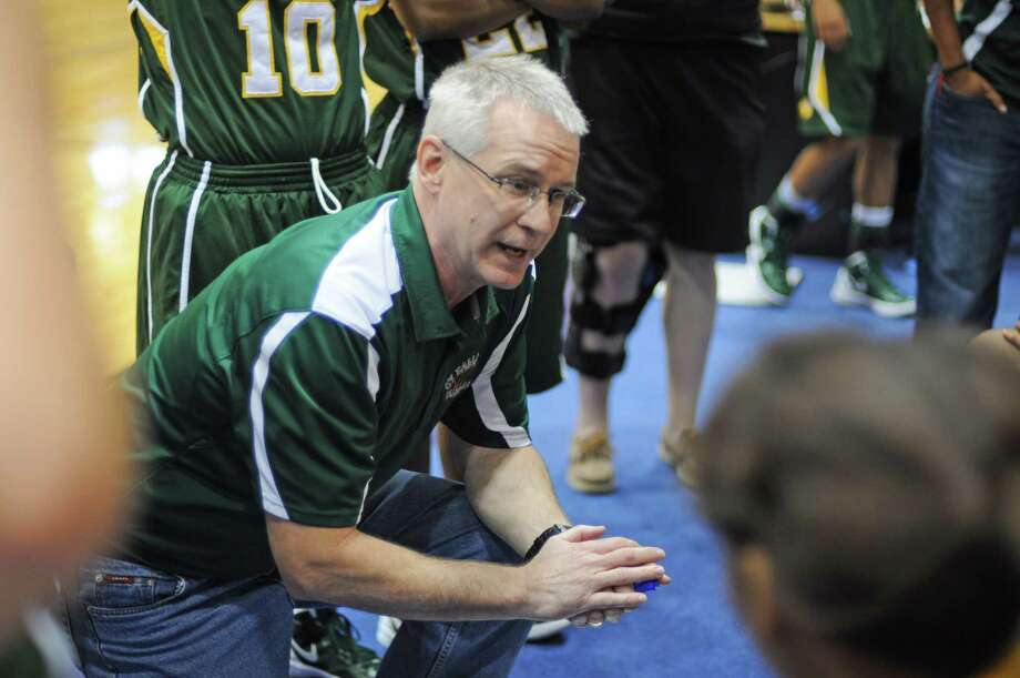 Cy Falls girls basketball coach Jim Stephens has the Golden Eagles on track to return to the playoffs after a one-year absence. Photo: L. Scott Hainline / For The Chronicle